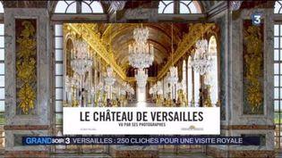La couverture du livre de photos sur le château de Versaille (FRANCE 3)