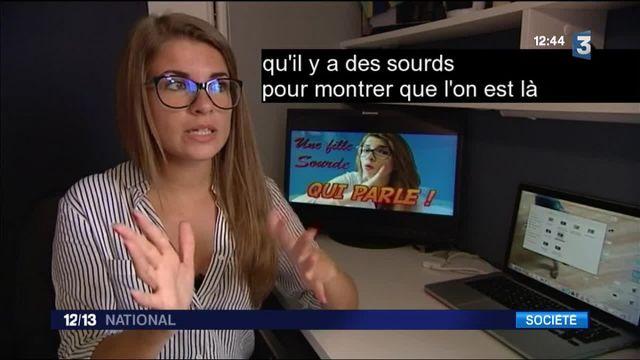 Internet : Mélanie, youtubeuse sourde