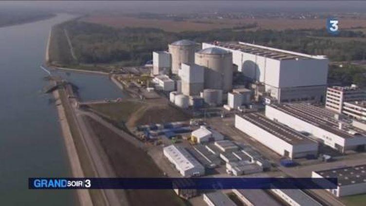 La centrale de Fessenheim va bientôt fermer. (FRANCE 3)