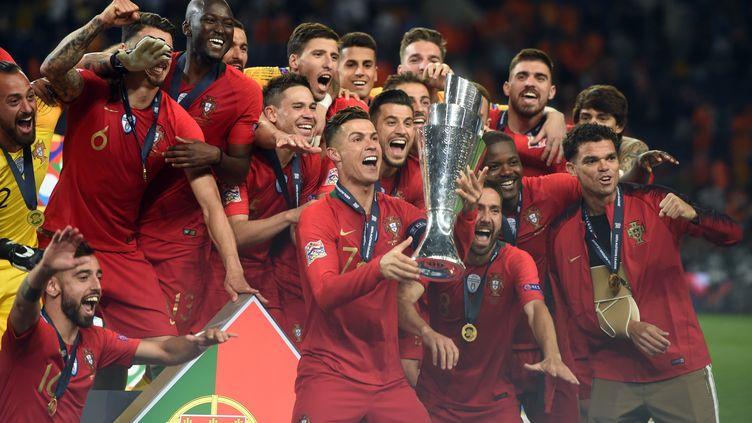 Le Portugal avait remporté en juin 2019 la première édition de la compétition (PATRICIA DE MELO MOREIRA / AFP)