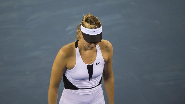 Maria Sharapova ne sera pas de retour de sitôt  (FRED DUFOUR / AFP)