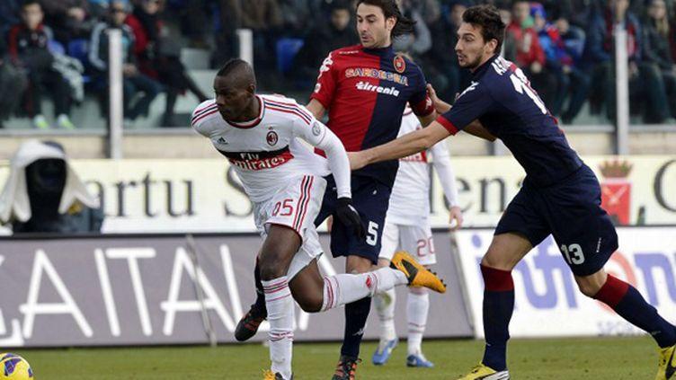 Le néo-Milanais Mario Balotelli