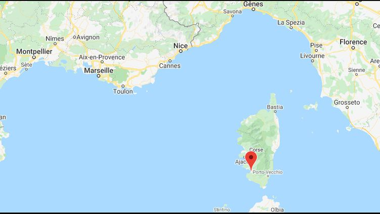 Propriano, en Corse. (GOOGLE MAPS)