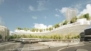 Le projet des architectesHandout / Sou Fujimoto/ Manal Rachdi-Oxo place la nature au coeur de Paris  (Handout / Sou Fujimoto/Manal Rachdi-Oxo / AFP)