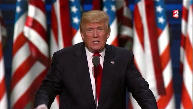 """États unis : """"Discours plus structuré"""" pour Donald Trump"""