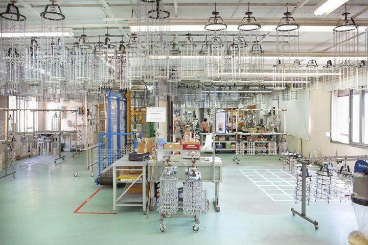 Au Cheylard, en Ardèche, l'usine qui produit lesbijoux Les Georgettes (Altesse)