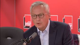 Bruno Le Maire, le 29 août 2020. (FRANCE INTER / RADIO FRANCE)