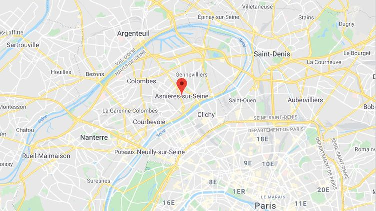 Asnières-sur-Seine (Hauts-de-Seine). (GOOGLE MAPS)