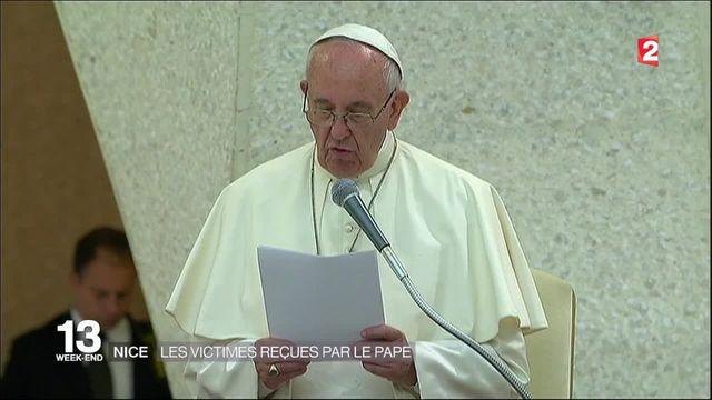 Nice : les victimes de l'attentat du 14-Juillet reçues par le pape