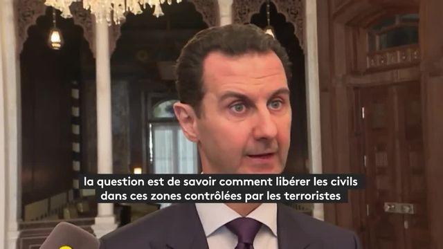 """Bachar Al-Assad : """"Toutes les guerres sont mauvaises, c'est parfois le prix à payer"""""""