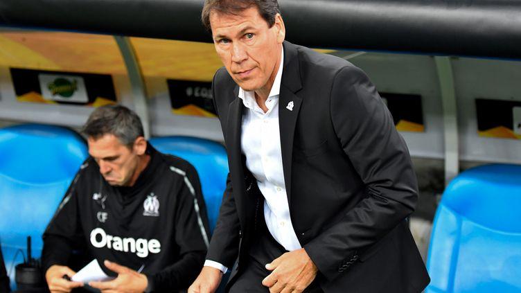 Rudi Garcia déçu (Olympique de Marseille) (GERARD JULIEN / AFP)