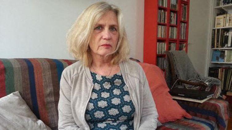 Bénédicte Mei, la mère de Lucie, journaliste de 37 ans victime du crash lors du tournage du jeu d'aventure Dropped. (S?BASTIEN BAER / RADIO FRANCE)