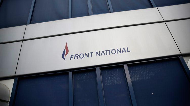 Le siège du Front national à Nanterre (Hauts-de-Seine), le 16 janvier 2015. (MAXPPP)