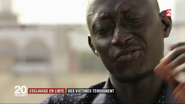 Esclavage en Libye : des victimes témoignent