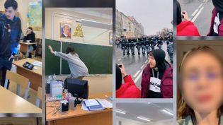 Sur le réseau social TikTok, de nombreux jeunes Russes ont appelé à manifester et réclament lalibération de l'opposant Alexeï Navalny. (CAPTURE D'ECRAN TIKTOK)