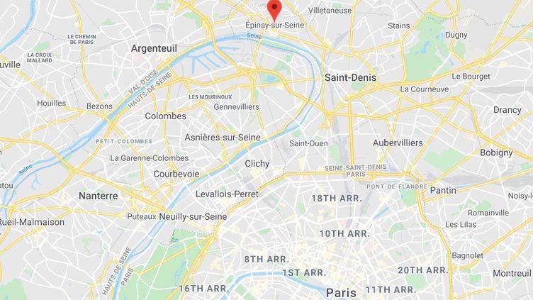 Epinay-sur-Seine (Seine-Saint-Denis). (GOOGLE MAPS)
