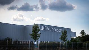 L'usine Ikea Industry à Lure, qui fabrique des panneaux de bois pour les meubles en kit. (JEAN-FRANÇOIS FERNANDEZ / FRANCE-BLEU BESANÇON)