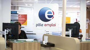 Dans une agence Pôle emploi de Paris, le 2 septembre 2015. (MAXPPP)