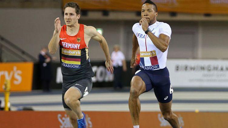 Le sprinteur français Emmanuel Biron