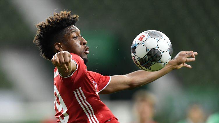 "Kingsley Coman l'affirme, son coeur est ""100% Bayern"" (MARTIN MEISSNER / DPA)"