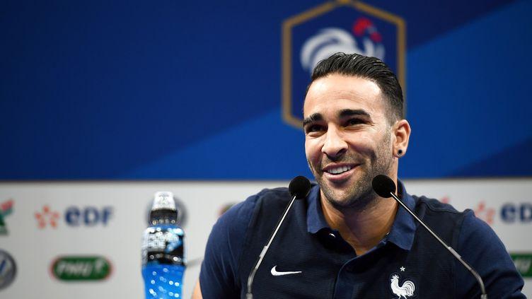 Le défenseur international Adil Rami (FRANCK FIFE / AFP)