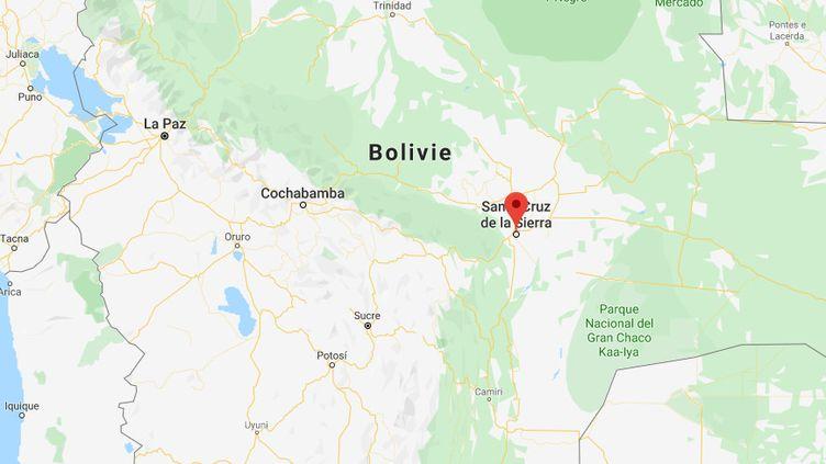 Une femme française de 73 ans a été retrouvée morte à son domicile de Santa Cruz (Bolivie), a annoncé la police locale le 27 décembre 2019. (GOOGLE MAPS)
