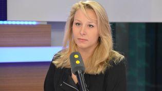 Marion Maréchal-Le Pen, députée de Vaucluse. (RADIO FRANCE / JEAN-CHRISTOPHE BOURDILLAT)