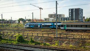 Laligne SNCF de Paris à Boulogne-sur-Mer desservie par le réseau des Trains express régionaux (TER) des Hauts-de-France, le 21 mai 2020. (AMAURY CORNU / HANS LUCAS / AFP)