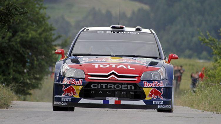 Sébastien Loeb sur l'asphalte