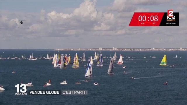 Vendée Globe : c'est parti !