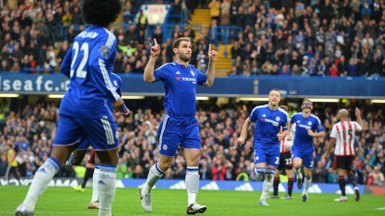 Les Blues débutent bien l'après-Mourinho (GLYN KIRK / AFP)