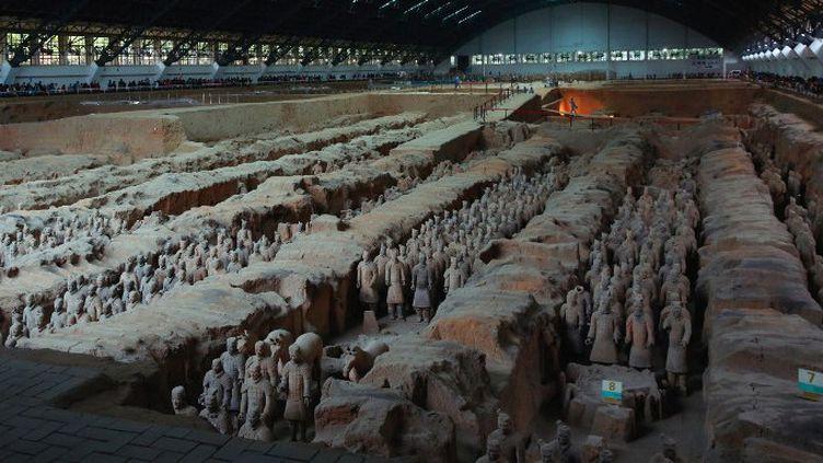Les guerriers en terre cuite de Xiang  (STR / AFP)