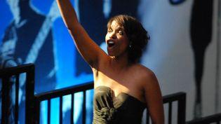 Kellylee Evans au festival de jazz de Vannes 2011  (PHOTOPQR/LE TELEGRAMME/PASCAL ROBERT)