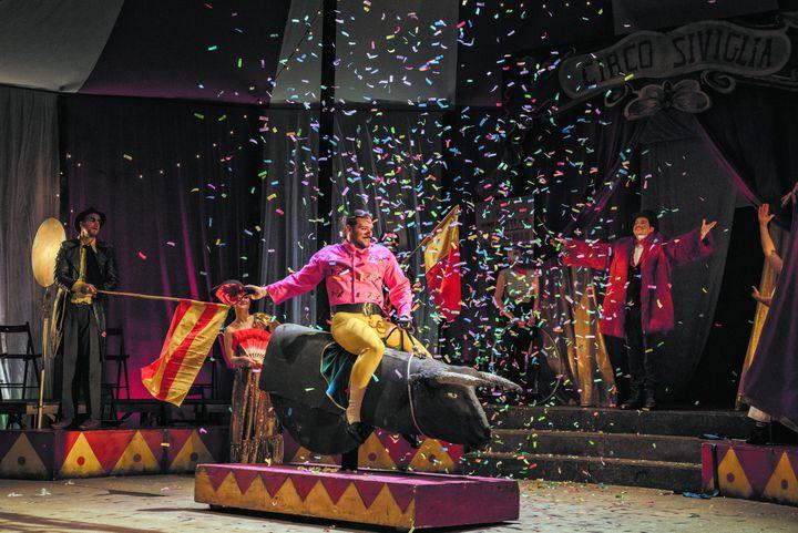 """Escamillo dans """"Carmen"""" au théâtre des champs-Elysées (MARION KERNO)"""