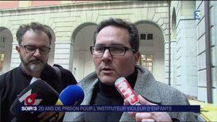 Me Olivier Connille, l'avocat du prévenu. (FRANCE 3)