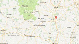"""Trois frères et sœurs sont morts après avoir """"coulés à pic"""" dans un lac à Chalon-sur-Saône, le 8 juillet 2018 (GOOGLE MAPS)"""