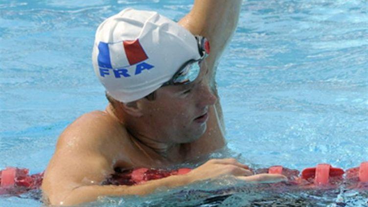 Yannick Agnel, le nouveau cador de la natation française (MIGUEL MEDINA / AFP)