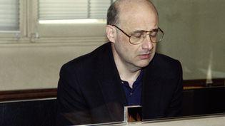 Jean-Claude Romand, à son procès en juin 1996. (PHILIPPE DESMAZES / AFP)