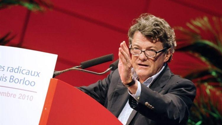 Jean-Louis Borloo, le 4 septembre 2010 à Lyon, lors d'une réunion du Parti radical (AFP - Jean-Pierre Clatot)