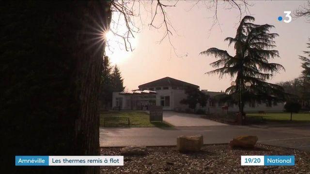 Amnéville : le pôle thermal remis à flot
