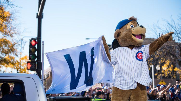 Les célébrations du titre des Chicago Cubs (MAX HERMAN / NURPHOTO)