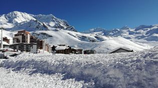La station deVal Thorens (Savoie), en février 2018. (CHRISTOPHE VAN VEEN / RADIO FRANCE)