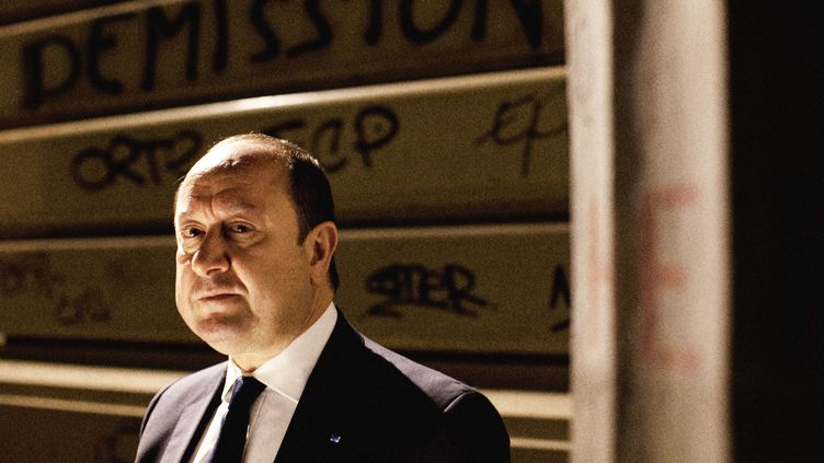 L'ancien directeur central du renseignement Bernard Squarcini, le 14 mai 2014, à Paris. (MAXPPP)