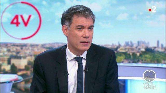 """Olivier Faure (PS) : """"BlackRock, c'est le côté obscur de la réforme des retraites"""""""