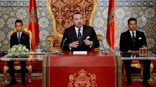 Le roi du Maroc Mohammed VIà Rabat le 31 juillet 2015. ( SIPA)