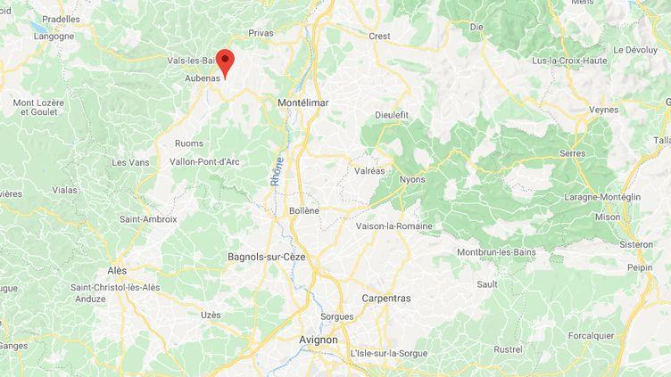 Lussas, en Ardèche. (GOOGLE MAPS)