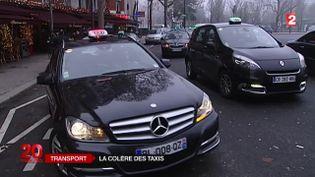 Les raisons de la colère des taxis. ( FRANCE 2)