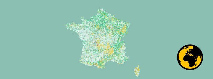Franceinfo a regroupé les résultats des dernières analyses de l'eau potable. (FRANCEINFO)