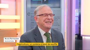 Bruno Parmentier, économiste, ancien directeur de l'école supérieure d'agriculture d'Angers (FRANCEINFO)