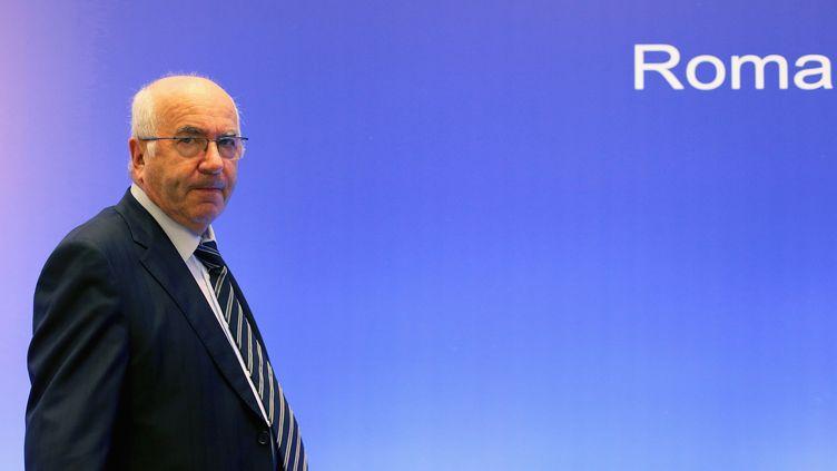 Carlo Tavecchio, le président de la Fédération italienne de football. (? ALESSANDRO BIANCHI / REUTERS / X90015)